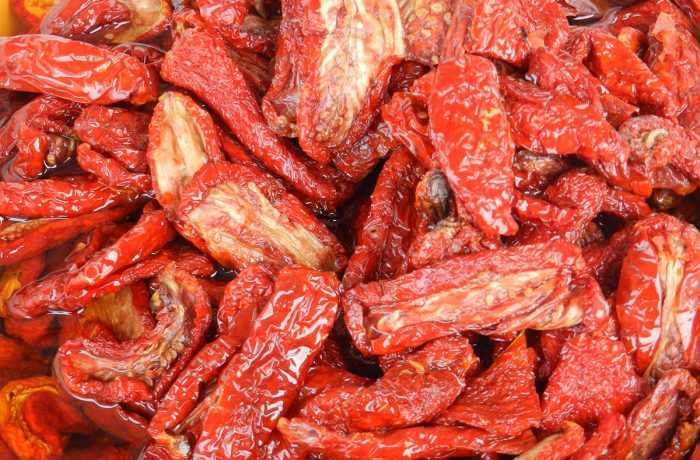 cream of dried tomatoes